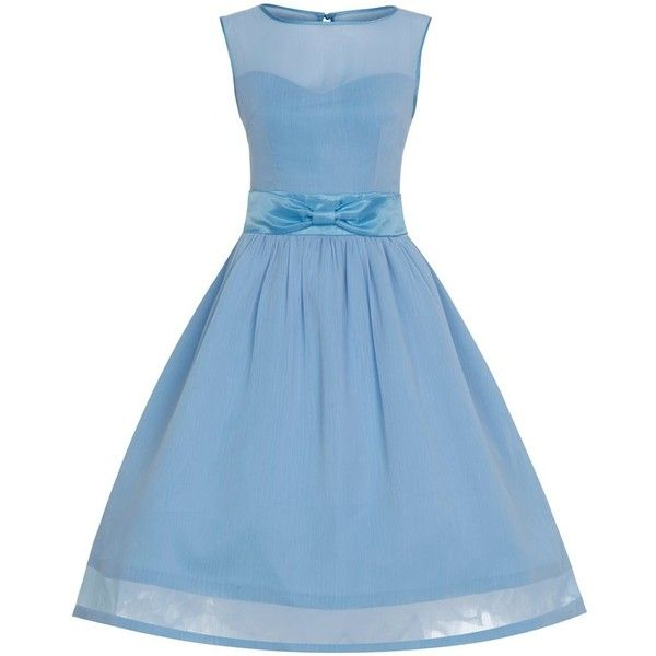 'Candy' Ice Blue Formal Prom Party Dress ❤ liked on Polyvore featuring dresses, formal dresses, blue dress, blue cocktail dress, ball prom dresses and formal wear dresses