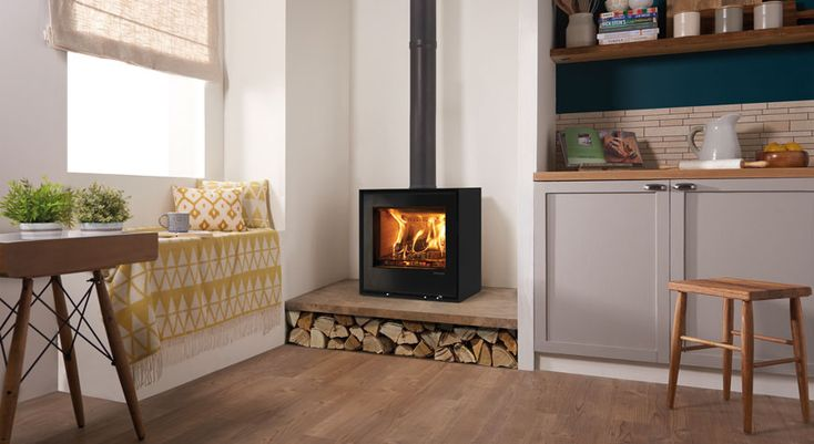 Freestanding Elise 540 Wood Burning and Multi-fuel Stoves - Stovax Stoves