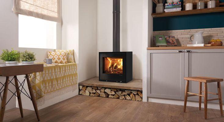 25 Best Ideas About Freestanding Fireplace On Pinterest