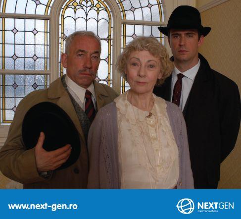 Un nou serial de la Diva: Miss Marple, de luni pana vineri, la ora 15:00.