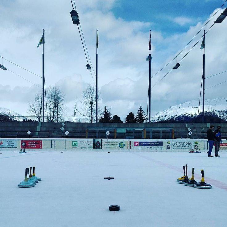 Curling bavarese #curling #stmoritz