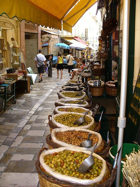 Hyeres by laura.foto, via Flickr ~ Olives galore...Mmmm