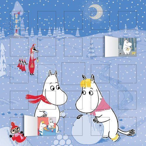 2017 Moomin Advent Calendar 9781783618927 (Paperback, 2016)