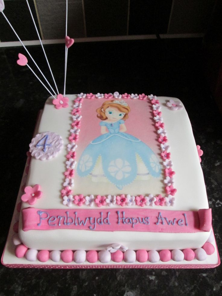 Princess Sofia Cake F 248 Dselsdage Disney Princess