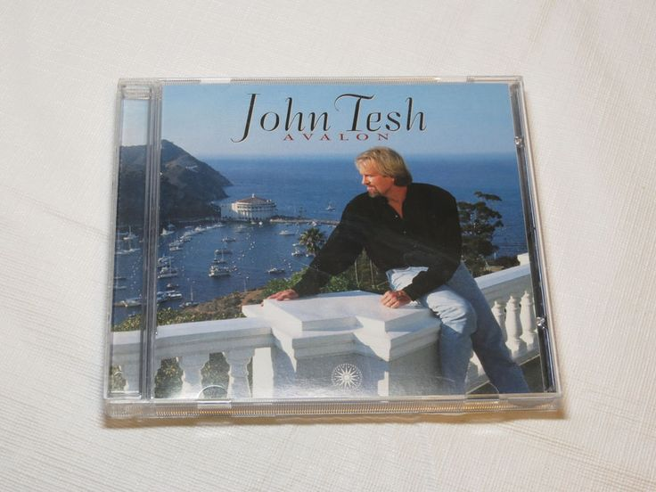 Avalon by John Tesh CD 1997 GTSP Records The View From Here Avalon Shores
