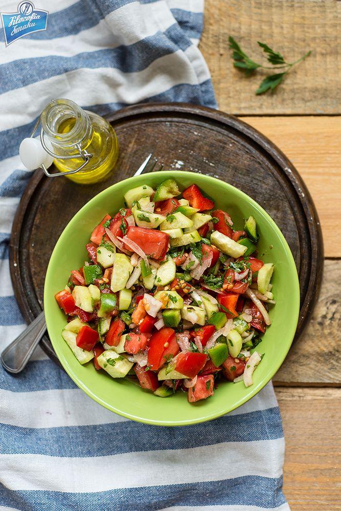 Sałatka pasterska/Coban salatasi/Shepherd's Salad