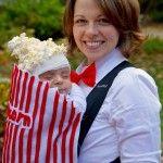 Baby Halloween versione sacchetto pop corn