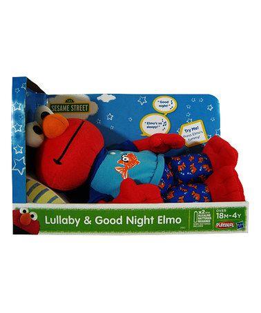 Look at this #zulilyfind! Sesame Street Lullaby & Good Night Elmo Doll #zulilyfinds