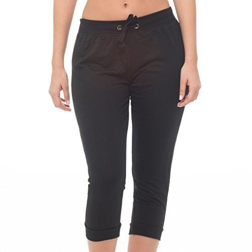 New Trending Pants: [E179XC-BK-1X] Coco-Limon Plus Size Terry Joggers, Capri Length. [E179XC-BK-1X] Coco-Limon Plus Size Terry Joggers, Capri Length   Special Offer: $9.99      177 Reviews Coco-Limon capri French terry joggers with black back pockets, drawstring waist and cuffed ankles are a wardrobe staple providing luxurious comfort and style. These pants are so versatile...