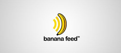 banana feed logo designs