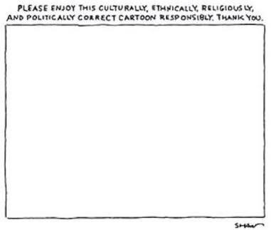 """""""Disfruten de esta viñeta cultural, étnica, religiosa y políticamente correcta"""", The New Yorker #CharlieHebdo"""