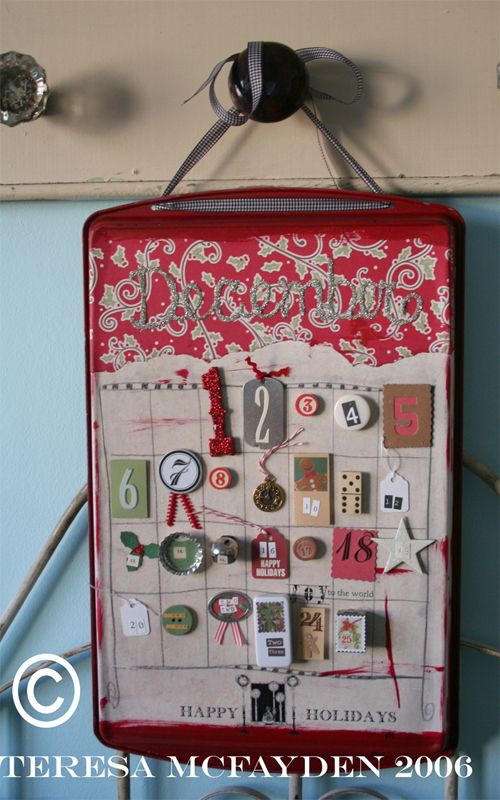 HOW TO - Make a cool advent calendar