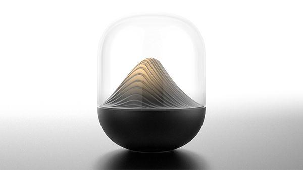 Sound sculpture on Industrial Design Served