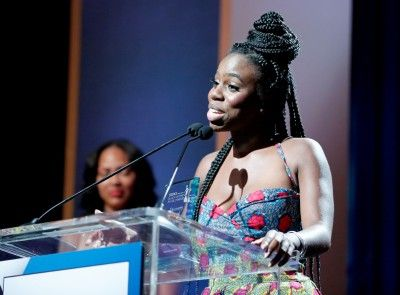 """Thais Francis won the 2016 ESSENCE Short Film Contest at the 9th Annual Black Women in Hollywood luncheon for her debut film, """"Late Expectations."""""""