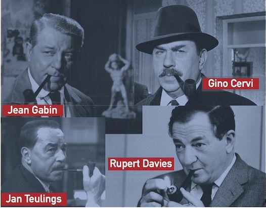 SIMENON SIMENON. POUR ETRE MAIGRET, FAUT-IL FUMER LA PIPE ? A propos de quatre acteurs ayant incarné Maigret