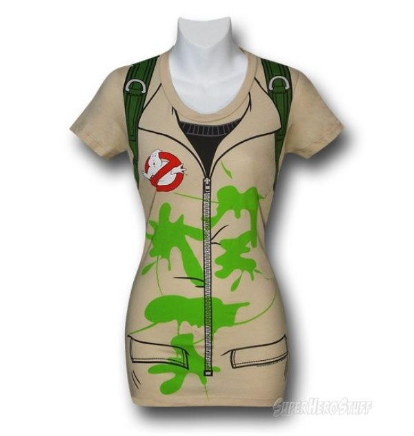 Ghostbusters Slimed Costume T-Shirt Lets You Become the First Female Ghostbuster