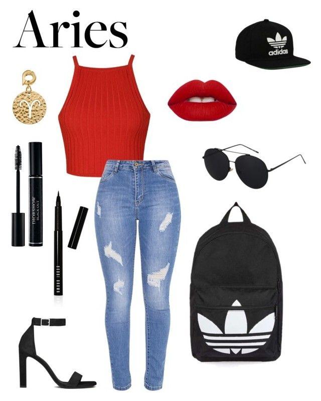 """Burn // Ellie Goulding"" by mikkitydodah on Polyvore featuring Ally Fashion, Topshop, Lime Crime, Yves Saint Laurent, nikki lissoni, Bobbi Brown Cosmetics and adidas Originals"
