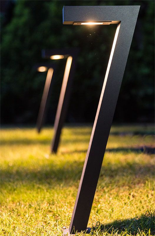 LED metal bollard light SEVEN Seven Collection by BEL-LIGHTING