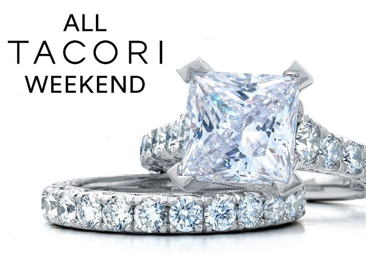 Join us for an All Tacori Weekend November 4th and 5th at Sheiban Jewelers. Tacori Representatives will be on site with over 500 of their latest ring designs and 250 wedding band combinations. For 2 days only, Sheiban Jewelers is offering 0% interest for 18 months AND 10% back on any Tacori purchase. PLUS when you RSVP and attend, you will receive a pair of Tacori Button Earrings as our gift to you!
