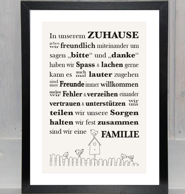 Hausordnung - Print,
