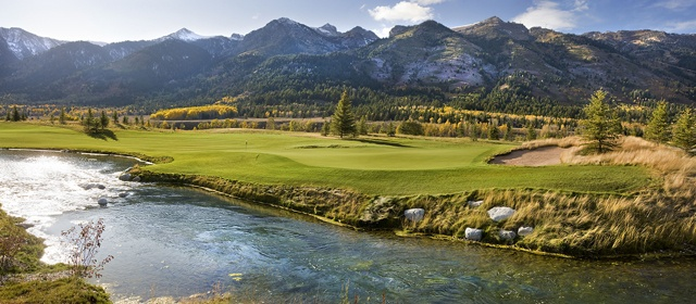 WYOMING - View from the Wort Hotel, Jackson Hole - horseback riding and white river rafting.