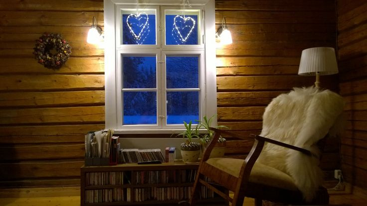 Blue moment. Slow life. Enjoy in Finland.