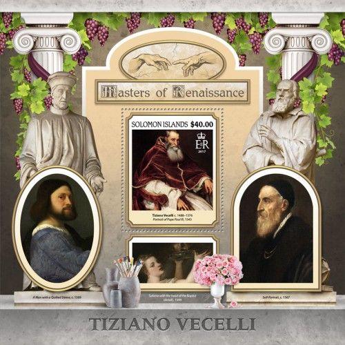 """SLM17110b Tiziano Vecelli (Tiziano Vecelli (c. 1488–1576) """"Portrait of Pope Paul III"""", 1543)"""