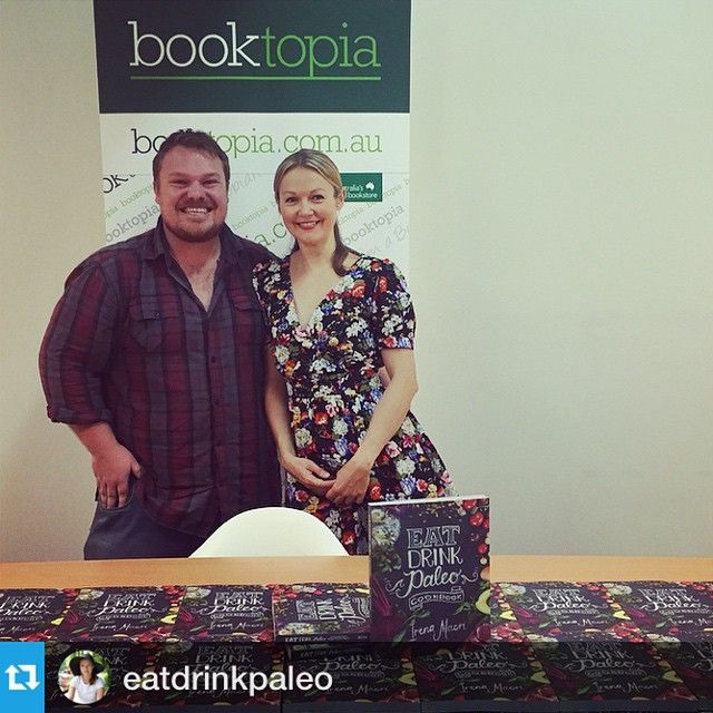 #Repost @eatdrinkpaleo -------This guys just made me laugh. Andrew, The Incompetent Chef and I at @booktopiabooks just before I signed all those cookbooks  #eatdrinkpaleocookbook #booktopia #foodie #paleo #cooking