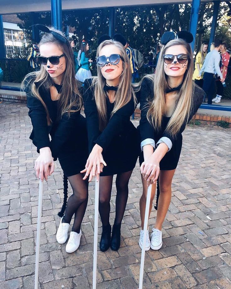 3 of a kind 21 trio costumes to wear with your best friends - 3 Girl Costumes Halloween