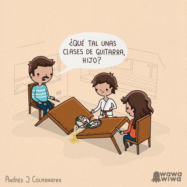 Clases de guitarra. #humor #risa #graciosas #chistosas #divertidas