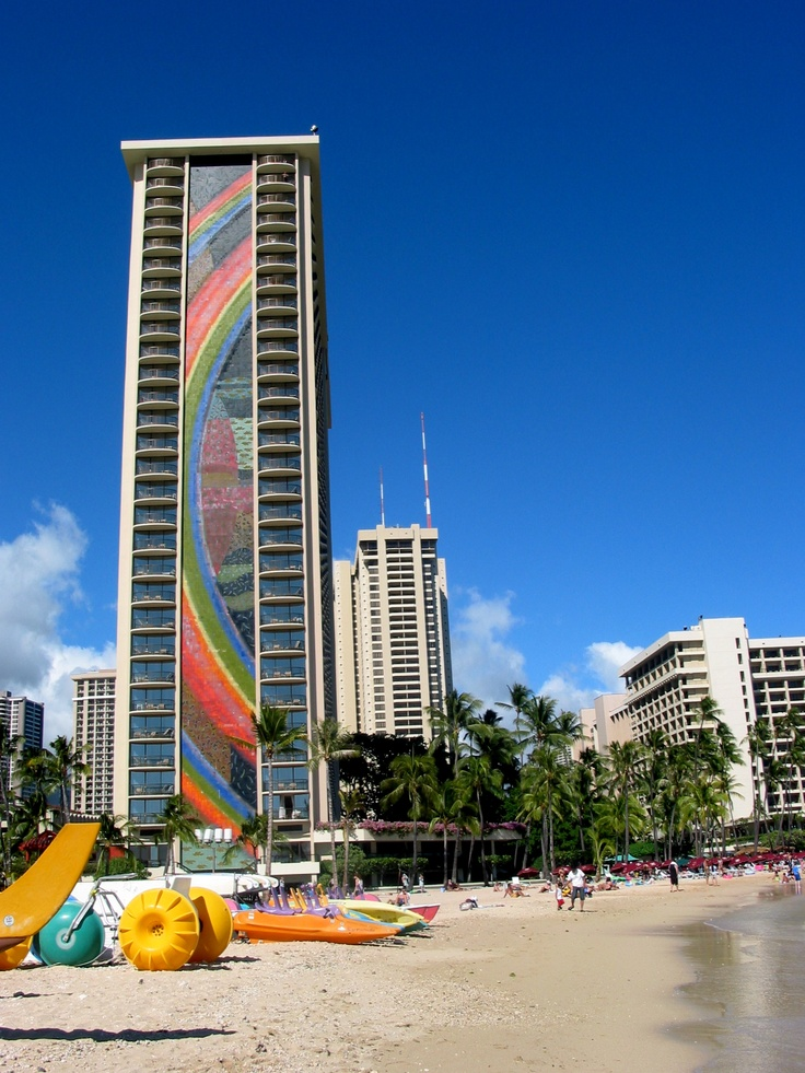 Hilton Waikiki Beach photo by Michele Nelson