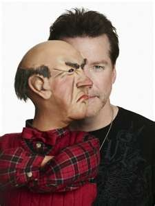 Jeff Dunham and Walter <3
