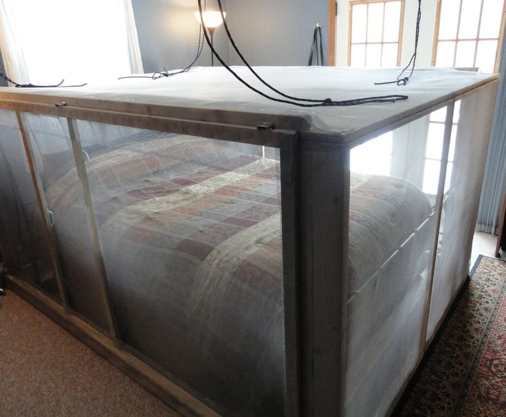 Sleep Inside A Faraday Cage Diy Bed Cage Survival
