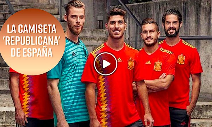 """Adidas y Su Polémica Camiseta """"Republicana"""" Española"""