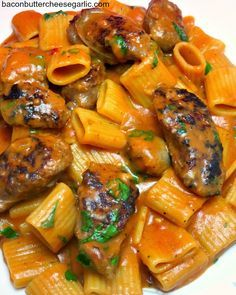 Spicy Sausage Pasta...this is a one-pot wonder, and it's truly wonderful!
