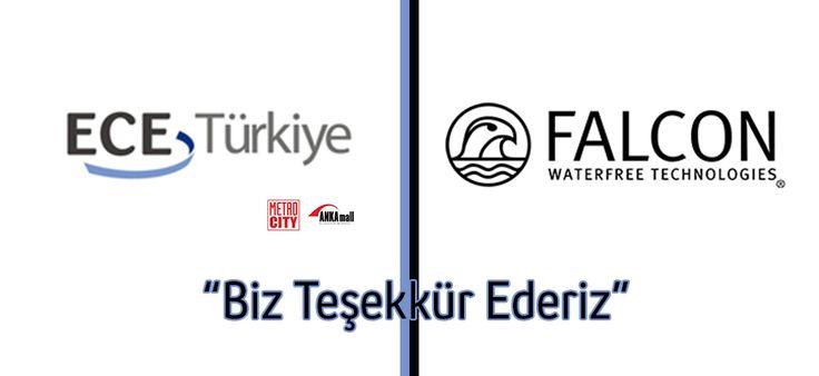 Ece Türkiye'den Falcon Susuz Pisuvara Teşekkür