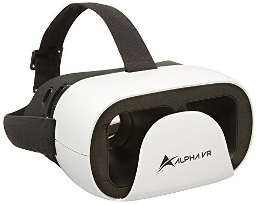 Alpha VR Virtual Reality Headset White