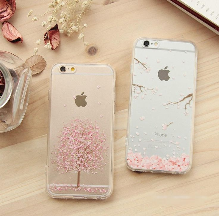 iPhone 6 Cherry #Blossom Print Transparent #Case #iphone6case #iphone6