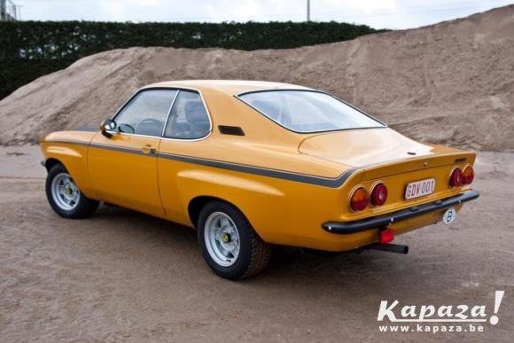 1974 Opel Manta TE2800. My 6th vehicle. First I drove at a sustained 100 plus for over an hour - Germany to Holland where I married Lucia.
