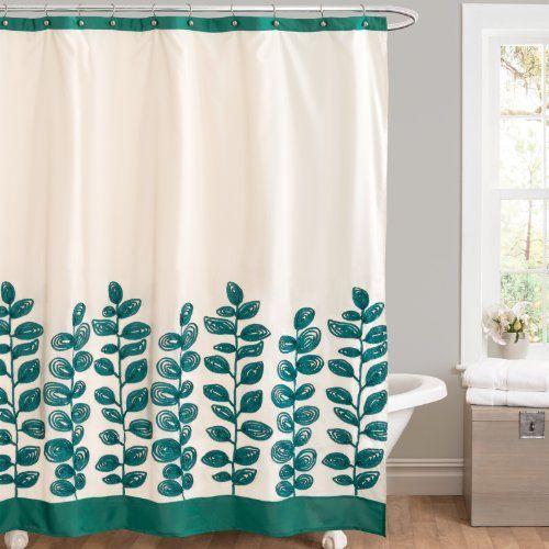 lush decor vineyard allure black white shower curtain overstock shopping great deals on lush decor shower curtains