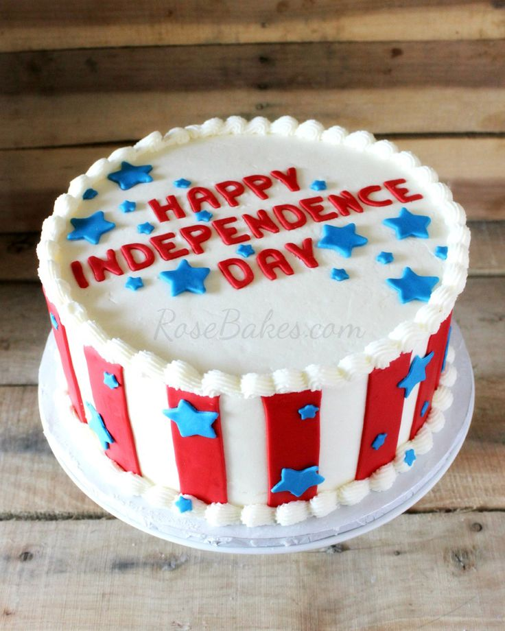 fourth of july cake pictures