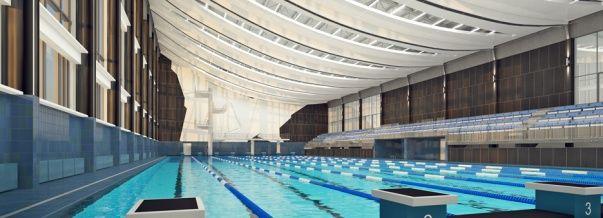 Дизайн интерьера бассейна спортивного комплекса «Нептун»