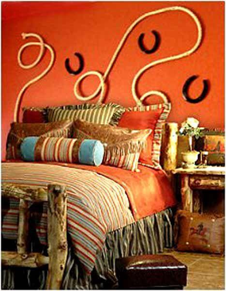 Horse Bedroom Decor 467×600 Pixels. HORSESHOES!