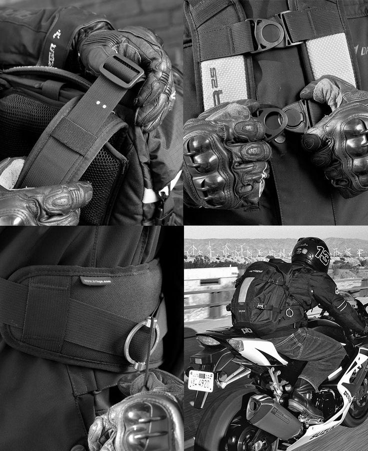 Kriega R25 motorcycle backpack