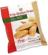 Glutenfrie pølsebrød. Finnes i frysedisken i velassorterte dagligvarebutikker/helsekost.