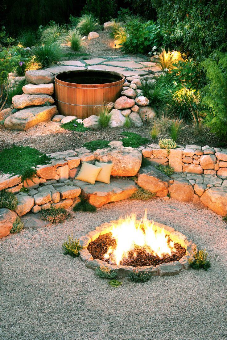 38 best fire pit ideas images on pinterest backyard retreat