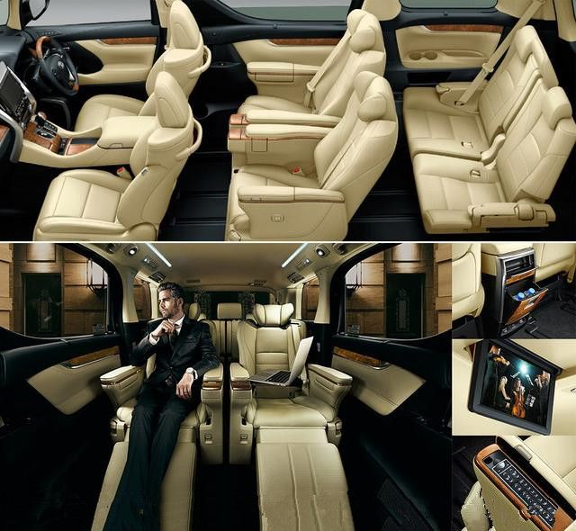"""New Toyota Alphard Interior - best for my """"small"""" family"""