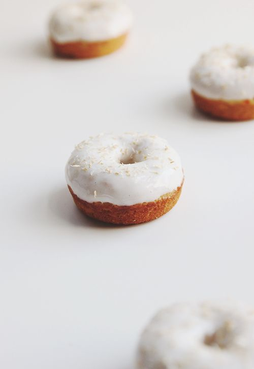 Carrot Cake Baked Donuts | @Melissa Squires : The Fauxmartha