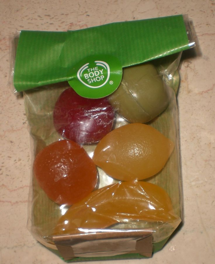 The Body Shop fruit shaped soap. For me, these came to be the smell of Christmas. My daughter used to have them in her stocking every year when young and the smell was incredibly pervasive.