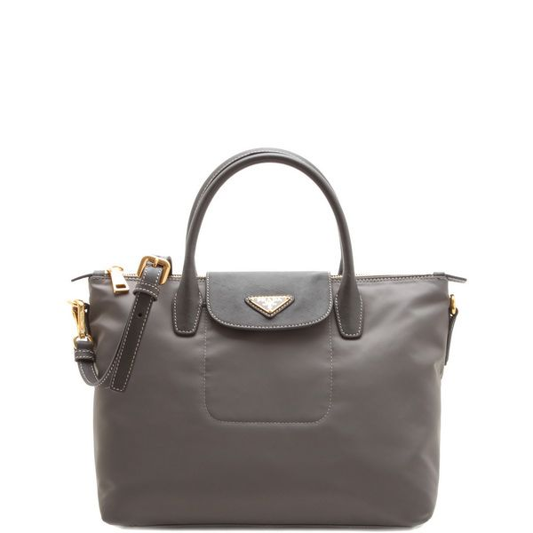 prada handbags purple - Prada Nylon Tote Bag Grey | A/W 13 Bag Research | Pinterest ...